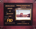 Excellence Award In Masonry